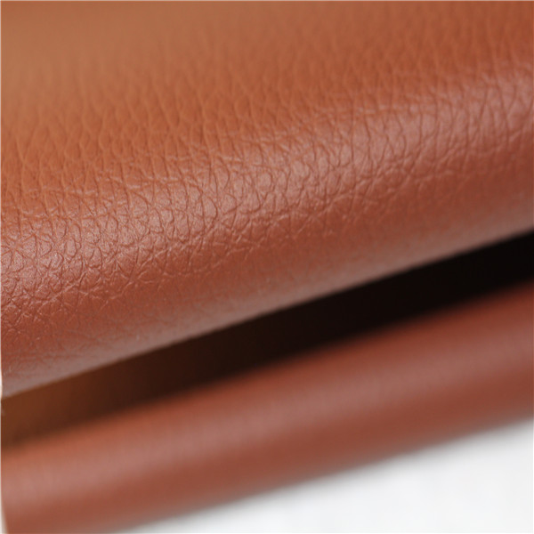 Textured Semi PU Sofa Leather Material Wholesale - 1509003-6690