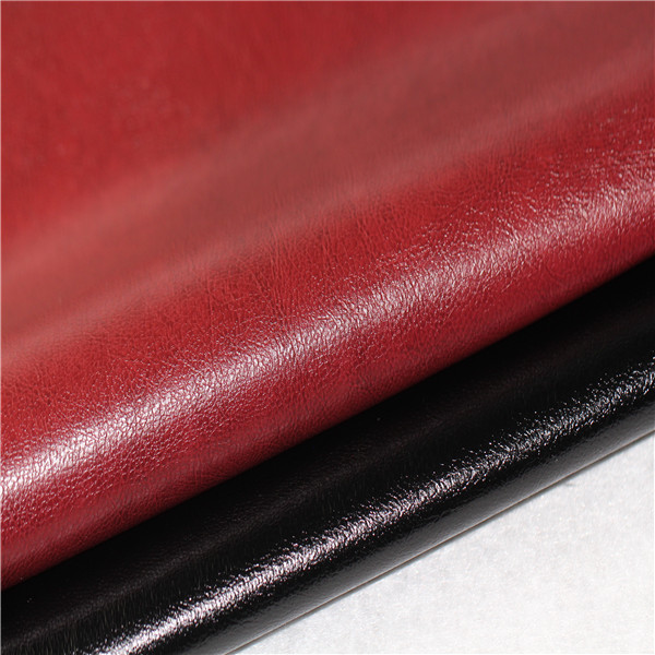 Durable Glossy Semi PU Leather for Furniture Covers - 1509003-6691
