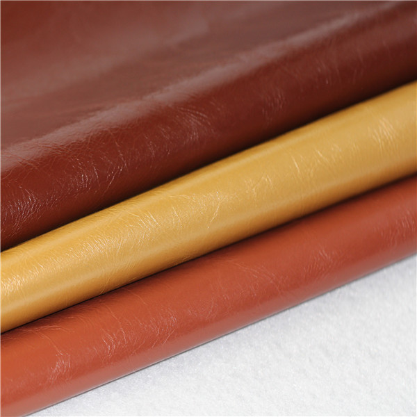 Smooth PVC Leather Fabric in Different Colors - 1107001-6678
