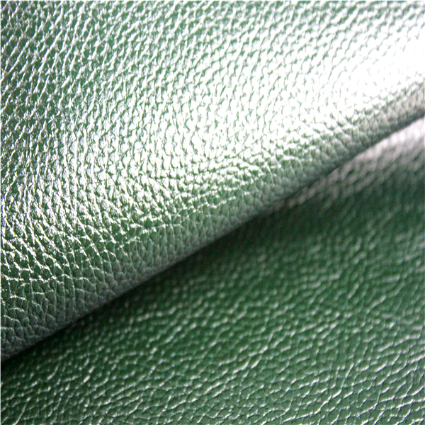 PU Finished Emboss Leather for Shoes