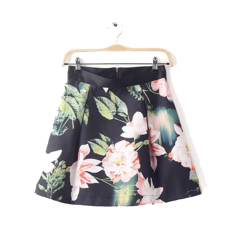 PU Leather For Children Skirt
