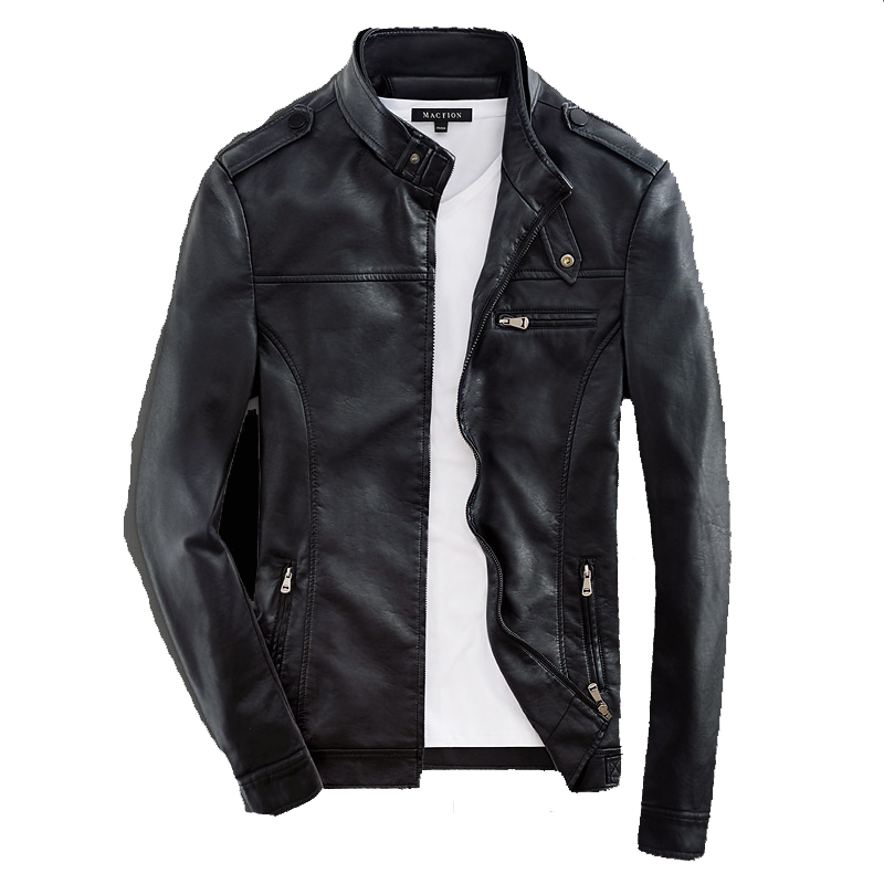 PU Synthetic Leather Used Jacket