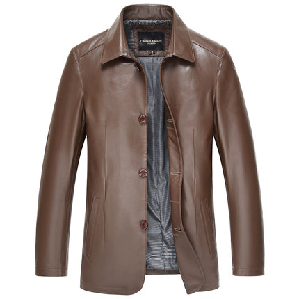 PU Leather For Man Jacket