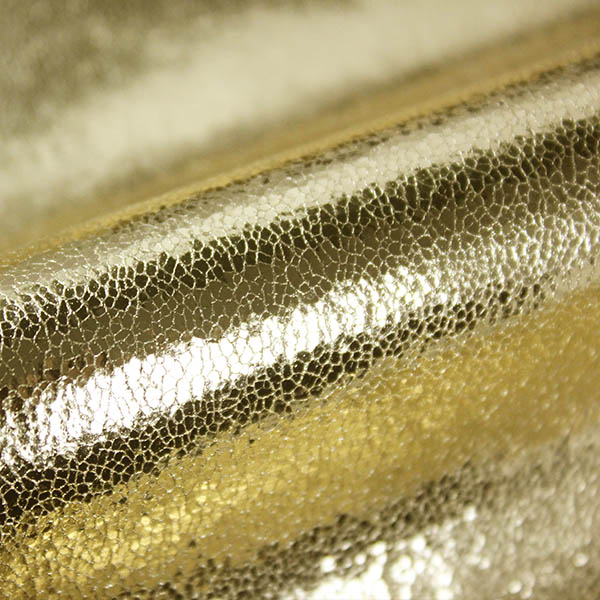 Gilded Effect Fabric for Shoes
