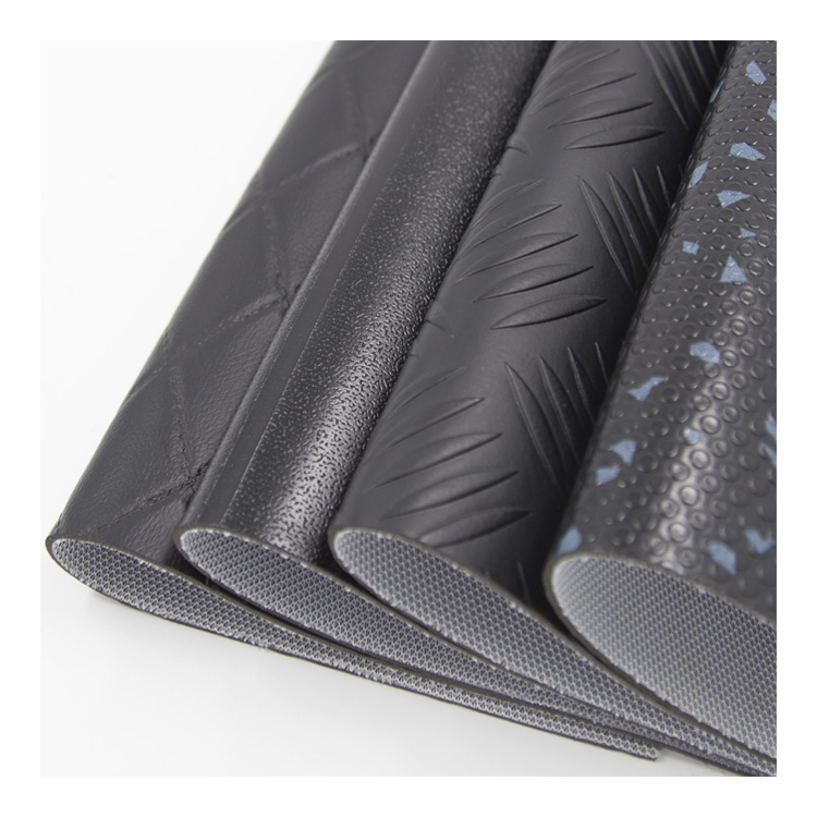 PVC vegetable floor leather synthetic for upholstery